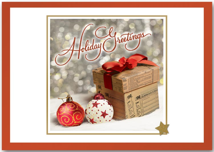 Accounting Holiday Cards