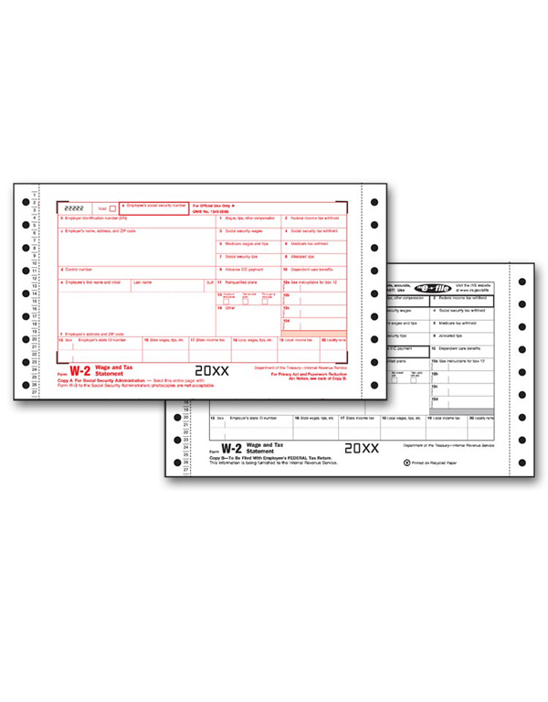 W-2 Twin Set - State (6 - Part)