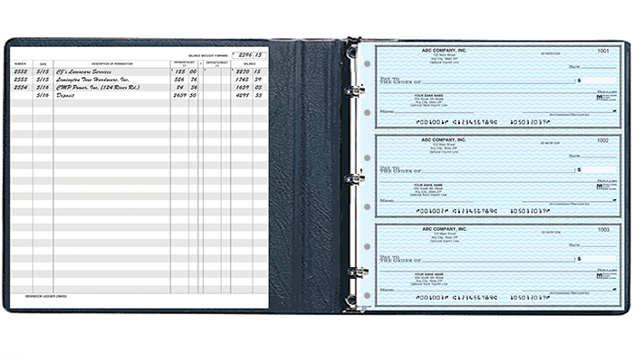 Executive Deskbook Binder 6 Ring