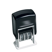 Micro Dater Stamp w/PAID, RECEIVED or FAXED