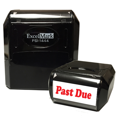 Flash Pre-Inked Stamp - PAST DUE