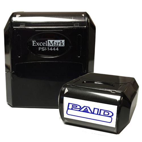 Flash Pre-Inked Stamp - PAID